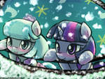 Watch the snow fall together~