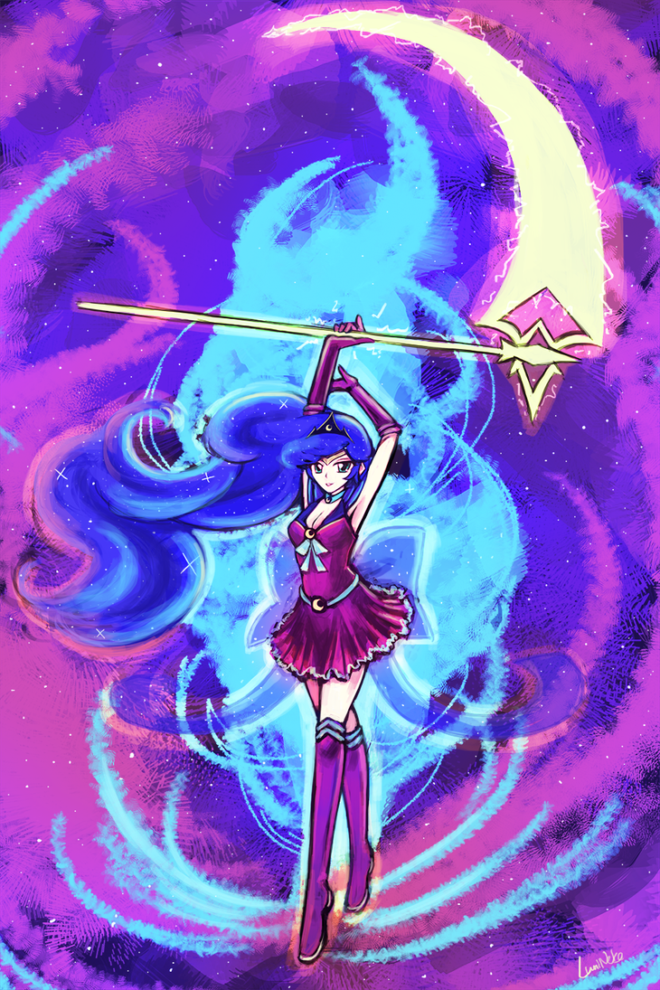 Bishoujo Senshi Sailor Luna! by luminaura on DeviantArt