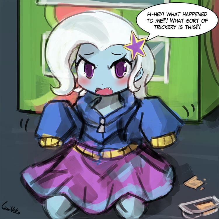 Trixie's Mishap
