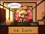 Ask Isabelle opens! by luminaura