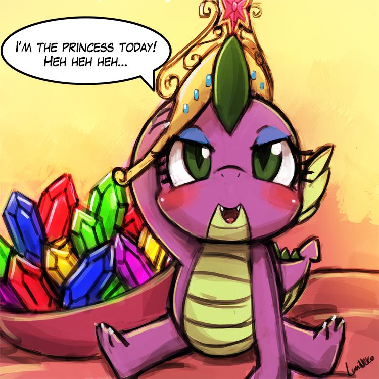 (s5e10) princess spike