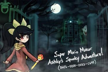 (Super Mario Maker) Ashley's Spooky Adventure!