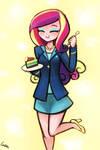 (Friendship Games) Cadance Loves Pie