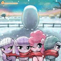 Pie Sister's Winter by luminaura