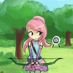 30minutechallenge - archer fluttershy