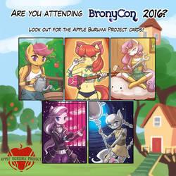 ABP Cards at BronyCon 2016! by luminaura