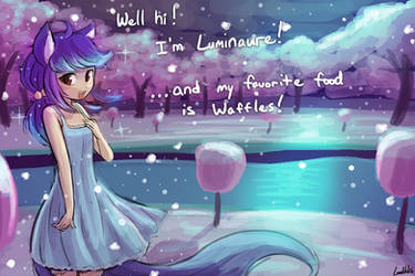 Who is the blue haired girl on your avatar? by luminaura