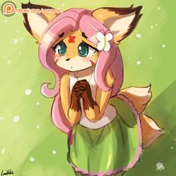 Flutter kitsune