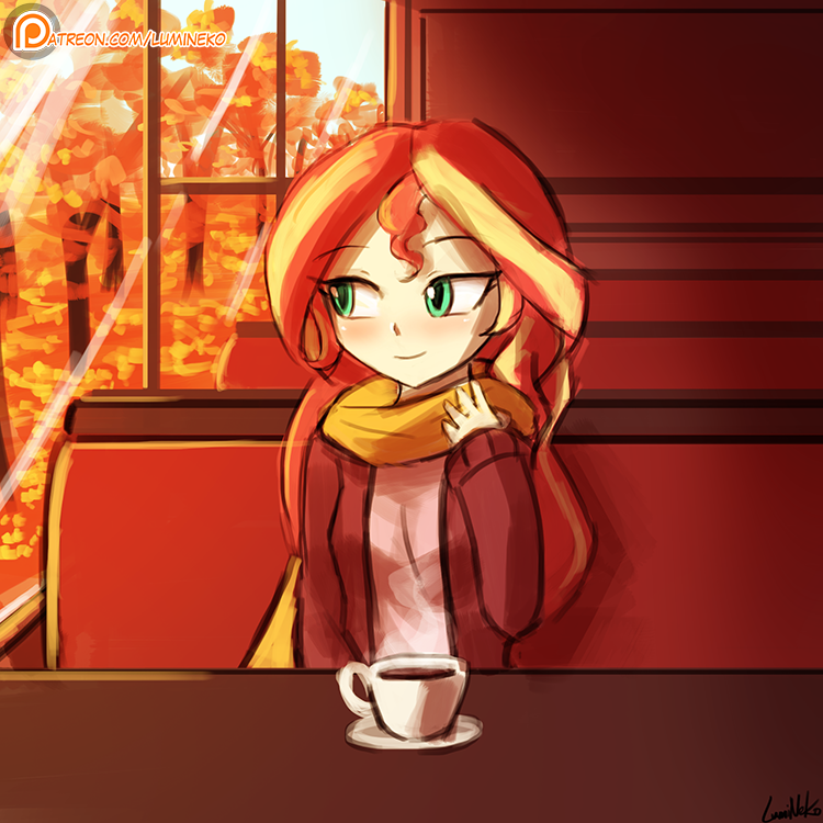 (Speed Paint) Sunset Shimmer Day