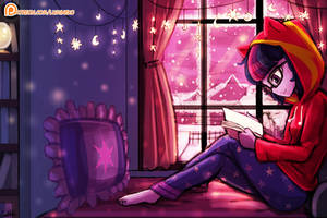 A relaxing winter by luminaura