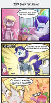 4koma- 2017 Sweater Meme by luminaura