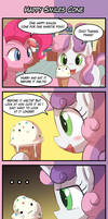(4koma Friday) Happy Smiles Cone by luminaura