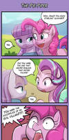 4koma Friday - The Pie Piper by luminaura