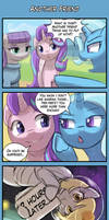 4koma Friday - Another Friend by luminaura
