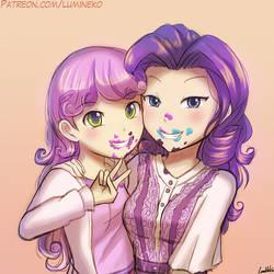 S7e06 - Ice Cream Sisters by luminaura