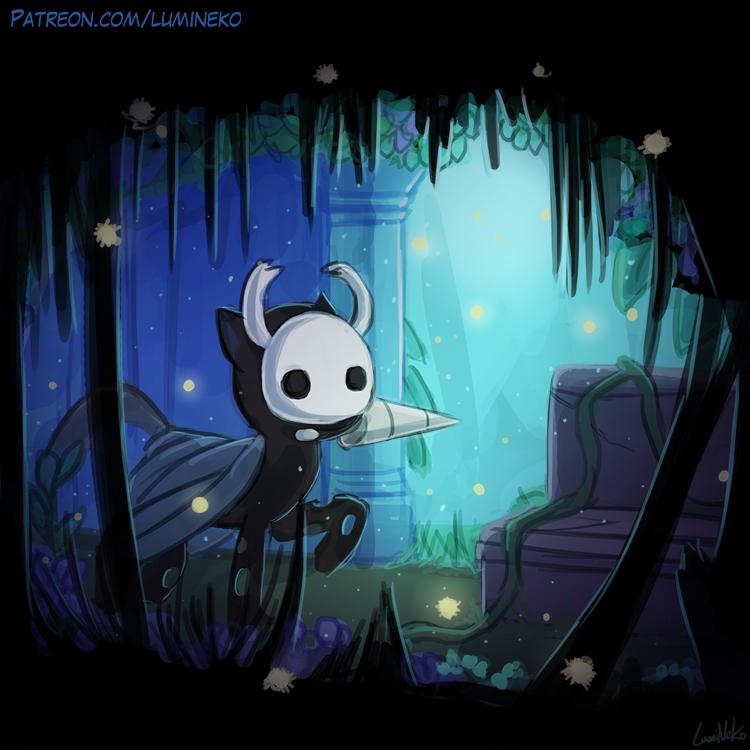 Speedpaint - Hollow Knight by luminaura