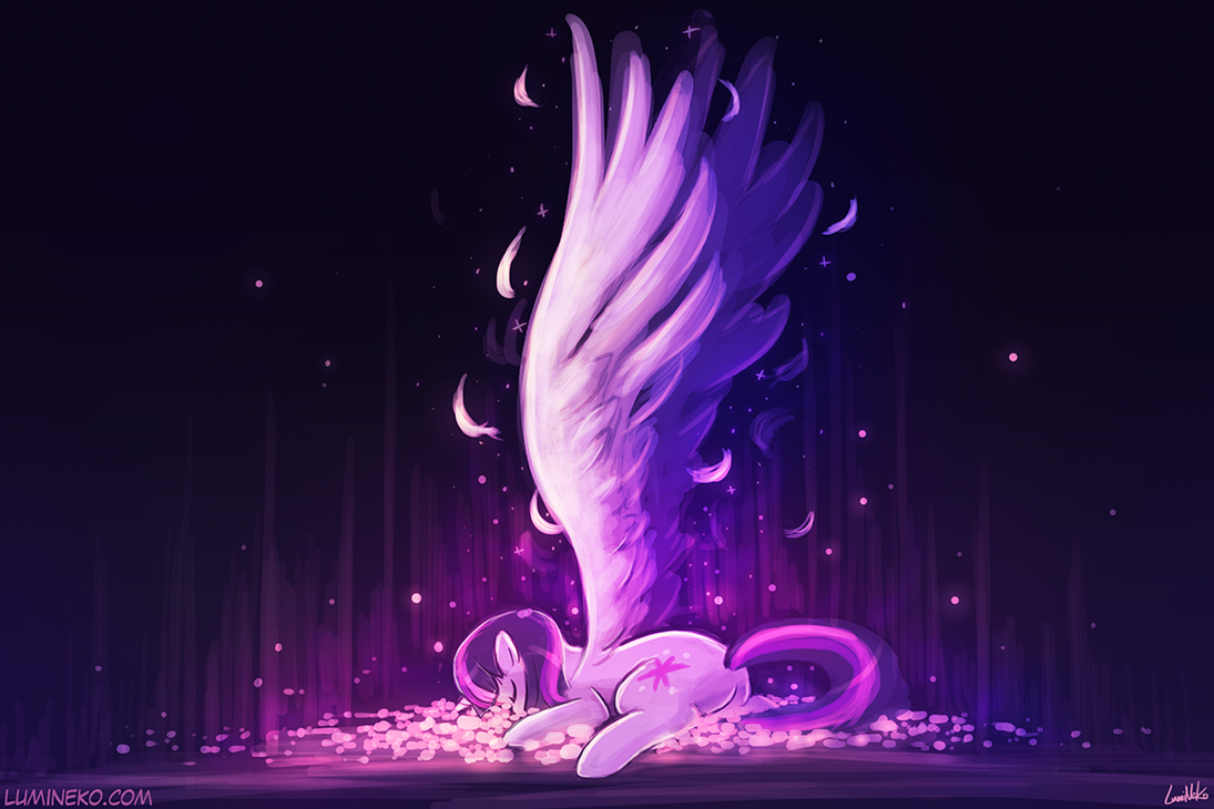 Becoming An Alicorn by luminaura