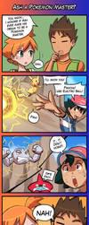 4Koma Friday - Ash a Pokemon Master? by luminaura