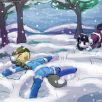 Speed Paint - Snow Play