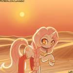 Speed Paint - Sahara Sunset