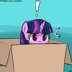 Caught in a Box by luminaura