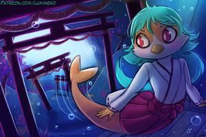 Mermaiden Jade by luminaura