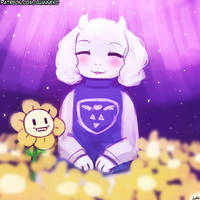 <b>Toriel And Flowey</b><br><i>luminaura</i>