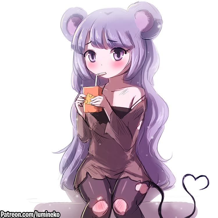 Mouse Princess by luminaura