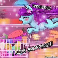 Excessive Shopping by luminaura