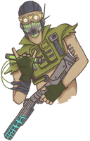 Apex Legends - OCTANE in anime style