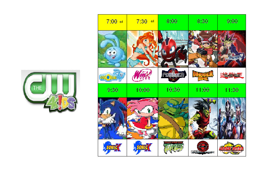 The CW4Kids - Fall 2009 by OBRK on DeviantArt