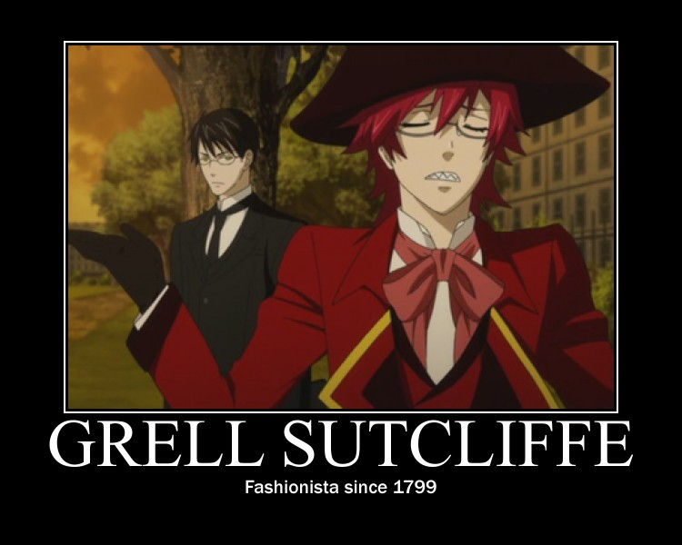 Young Grell Motivational by HikazePrincess