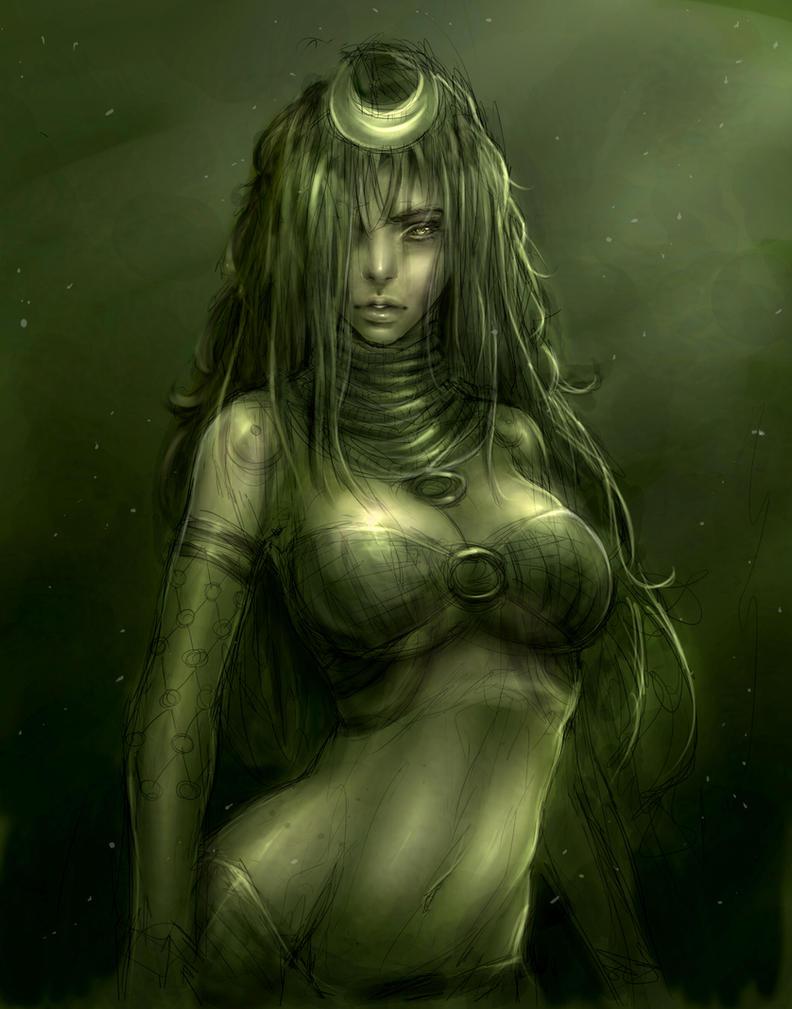 Enchantress Suicide squad by milk00001