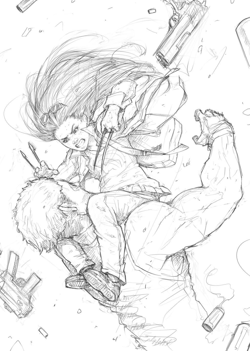 X-23 Logan by milk00001