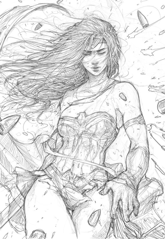 Wonder Women by milk00001
