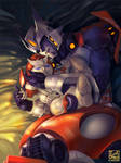 Drift with Ratchet plushie