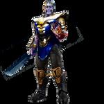 Thanos de Avengers 4 con su nueva armadura