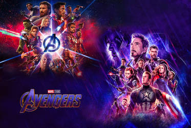 Avengers Wallpaper by k-3000