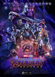 Avengers Endgame By TBK23 by k-3000