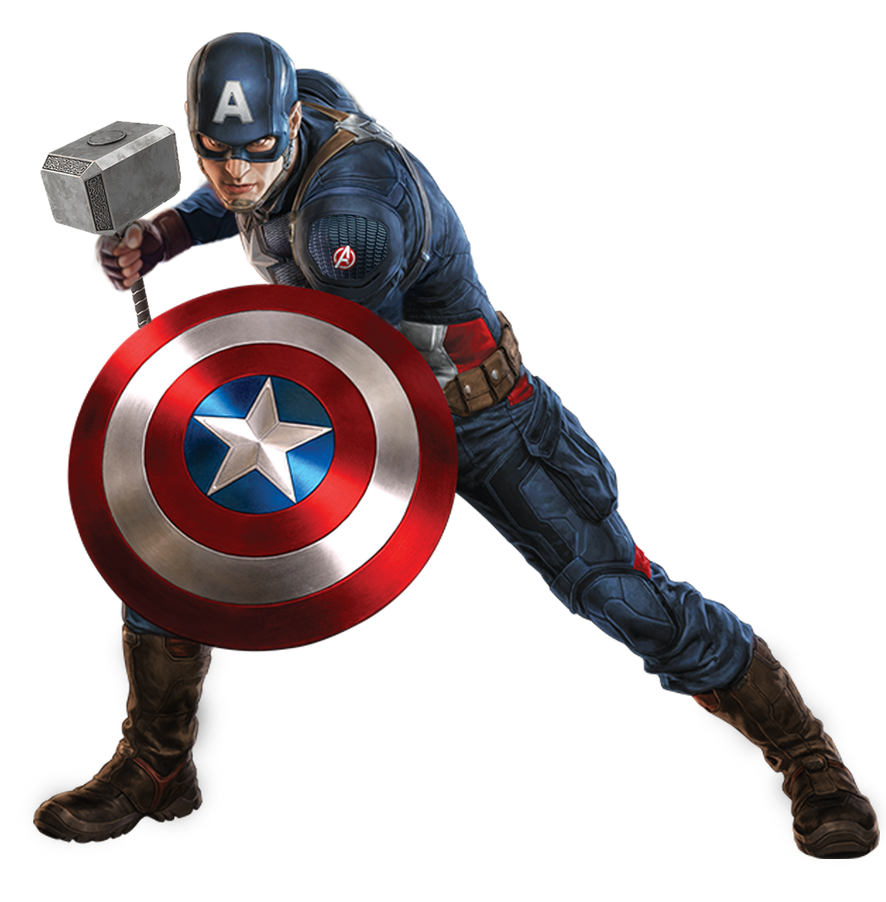captain america worthy by TbK23 by k-3000