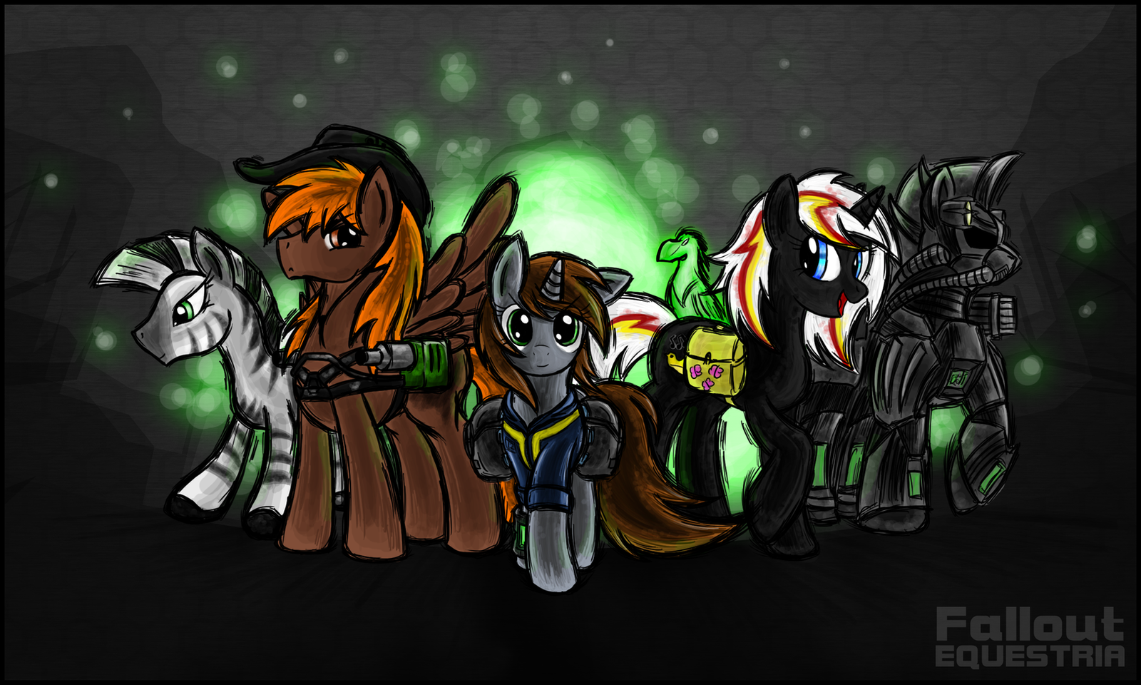 [FoE] Heroes Of The Wasteland By TheOmegaRidley On DeviantArt