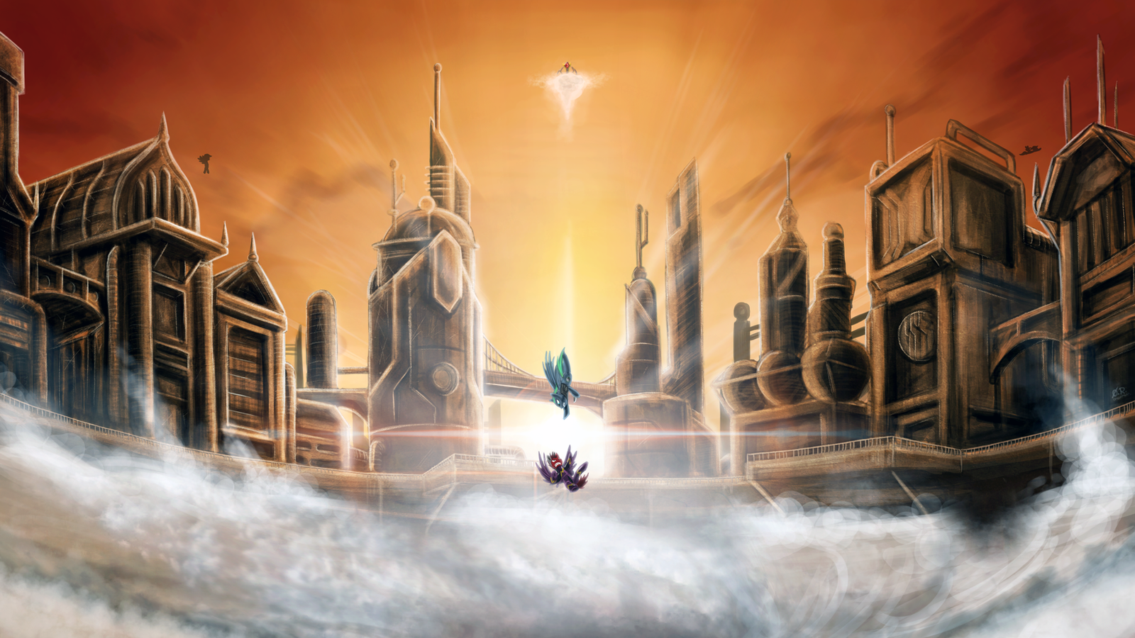 [FoE/O] Showdown at Cyclonus by TheOmegaRidley