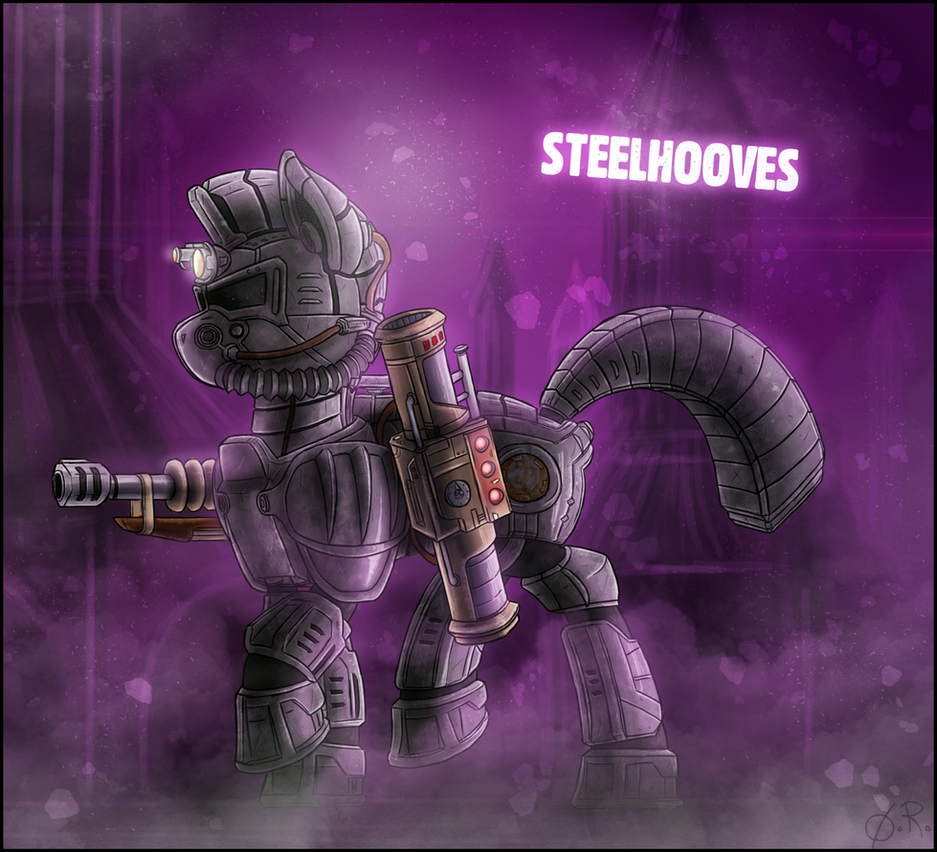 [FoE] Steelhooves by TheOmegaRidley