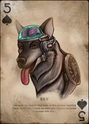 Rex, Five of Spades