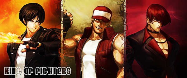 King of Fighters Sig by Darfreeze