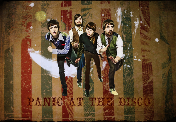 disco wallpaper. Panic At The Disco wallpaper by ~SilAmorphousHeart on deviantART