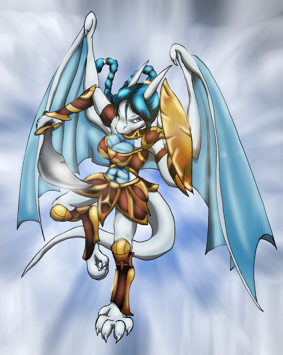 Warrior Lishna by Zedrin