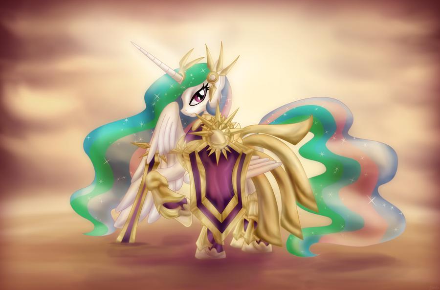 League of Pony Legends - the Radiant Dawn by Zedrin