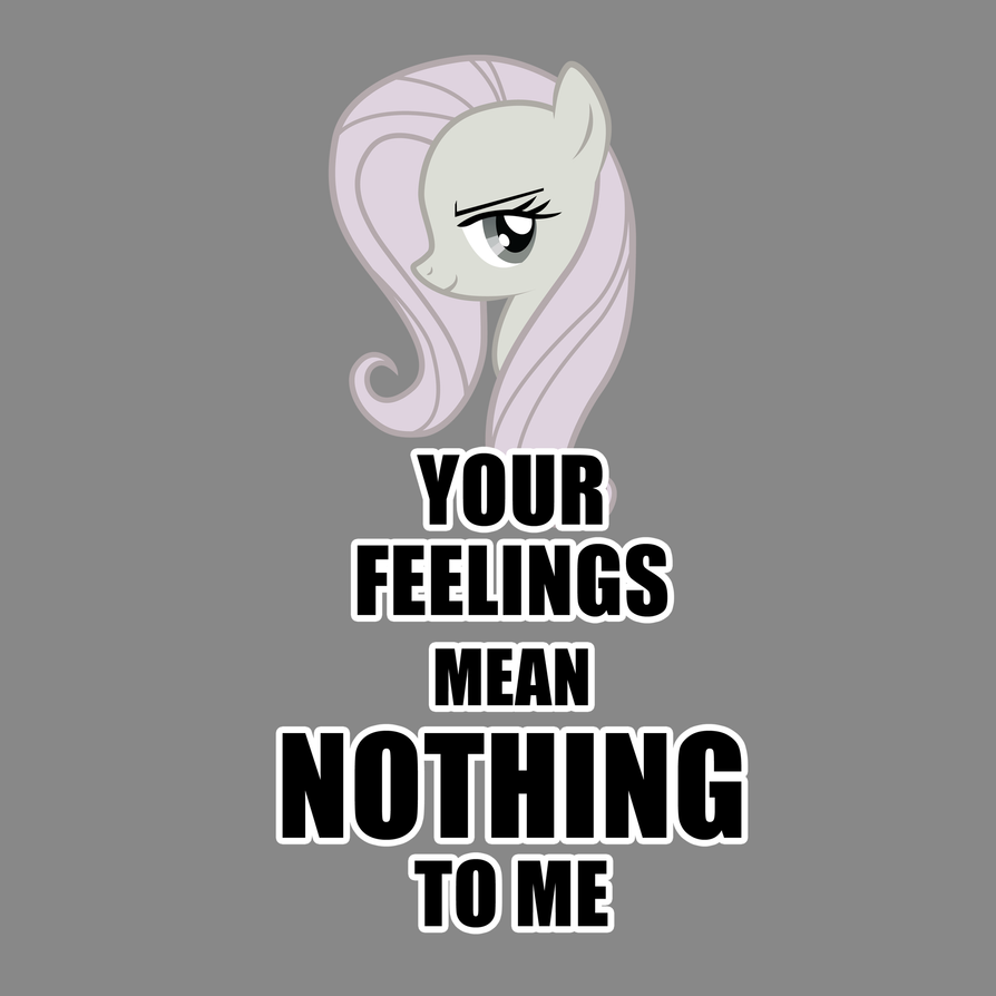 Cruelshy cares not for your feelings by Zedrin