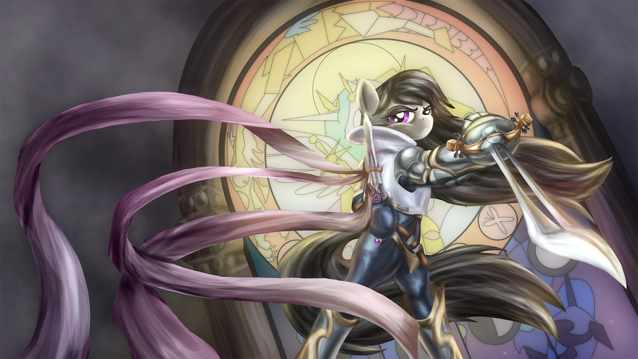 Octavia, the Grand Duelist by Zedrin